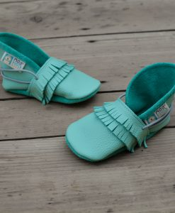 chaussons lutin franges